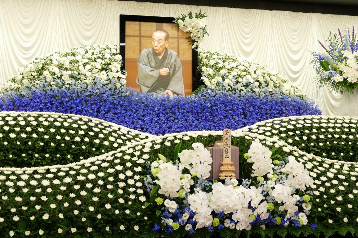 ジャニさん 葬儀 写真