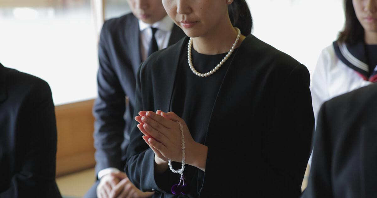 家族葬に参列する時のマナー