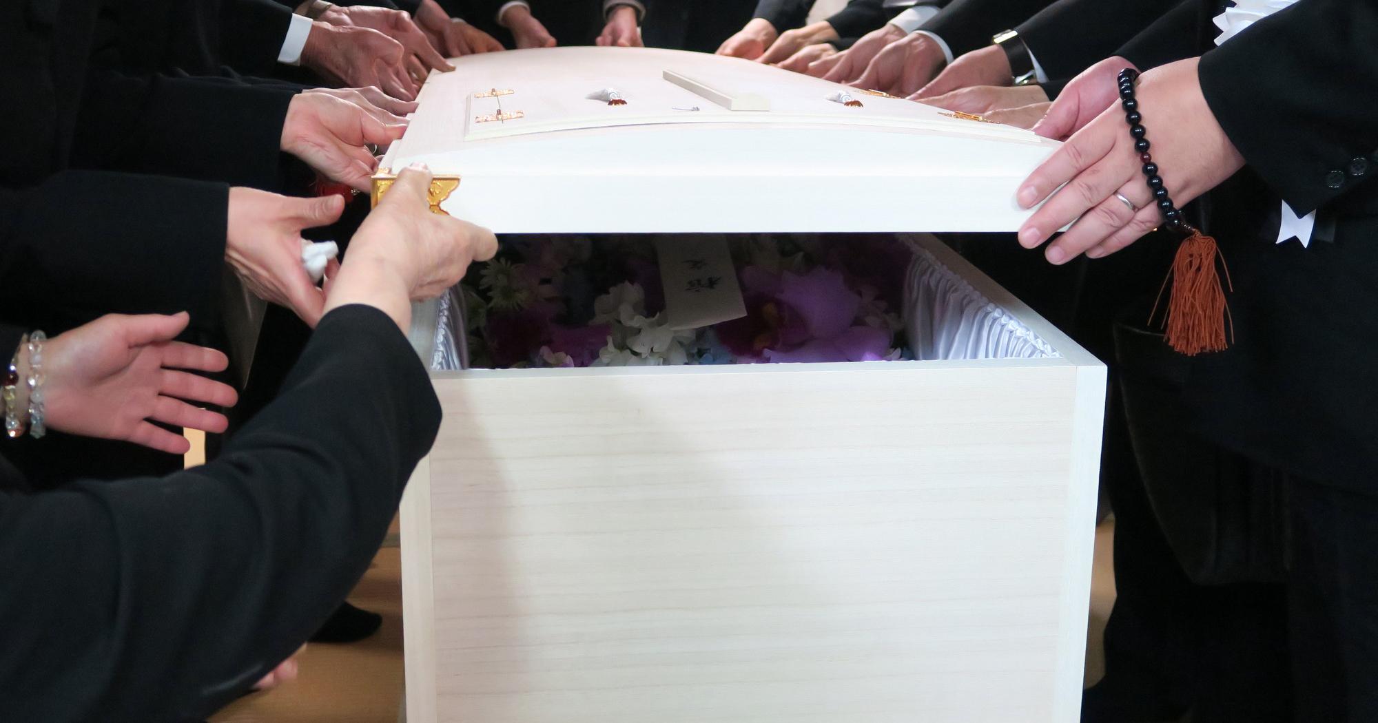 直葬・火葬式の様子