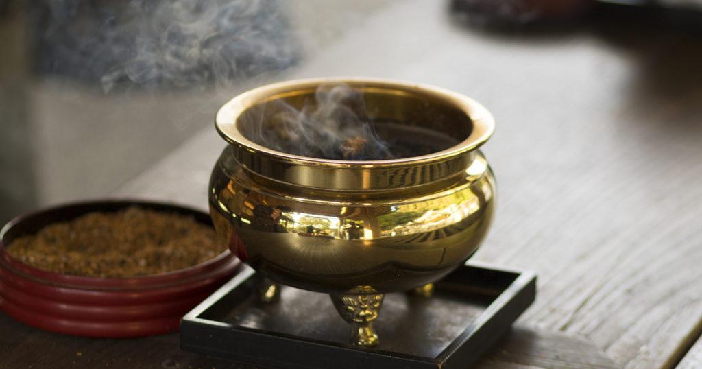 臨済宗では坐禅によって悟りを得ることが教えの特徴です。