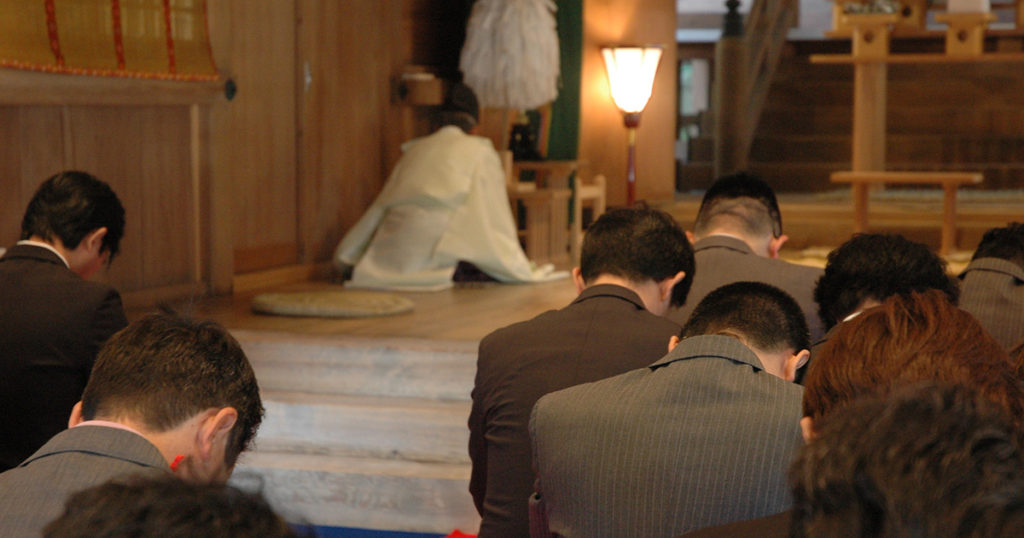 神葬祭の葬儀の流れ