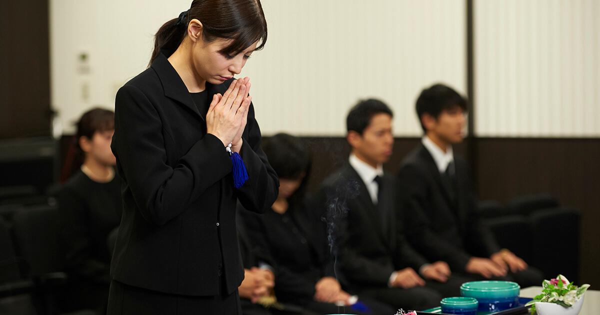 家族葬の服装マナー