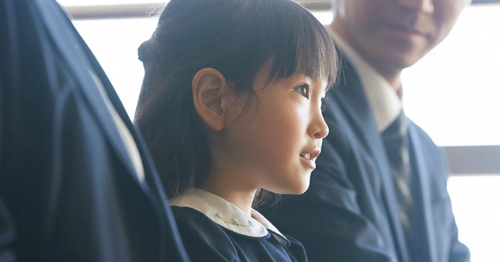 子供の髪も大人と同様に清潔感のある髪型にする