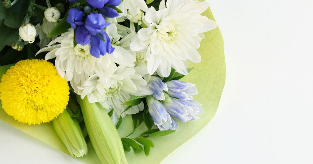 お彼岸のお供えの花