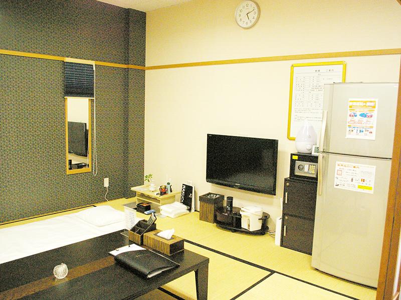 亀岡篠ホール(京都府亀岡市)の親族控え室の内観